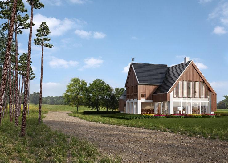 LK & Projekt Sp. z o.o. Casas de estilo rural