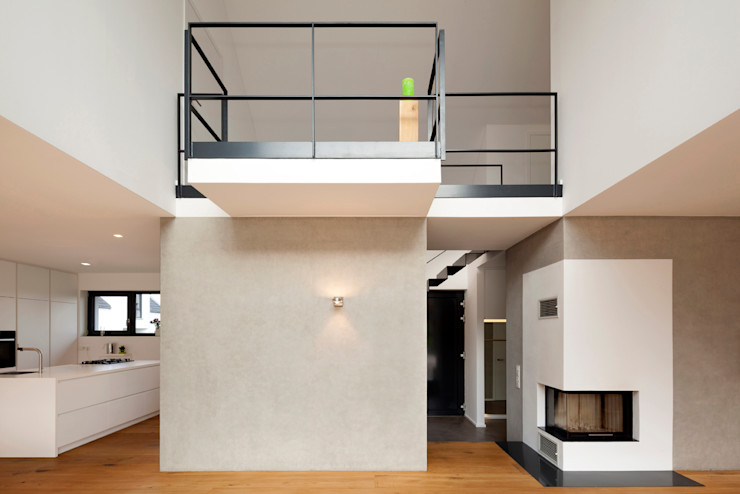 homify 现代客厅設計點子、靈感 & 圖片 White