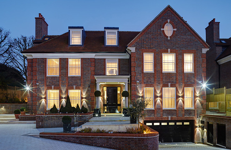 Suburban villa: View Road, Highgate Wolff Architects Modern houses