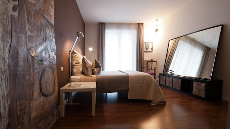 Archifacturing Modern style bedroom