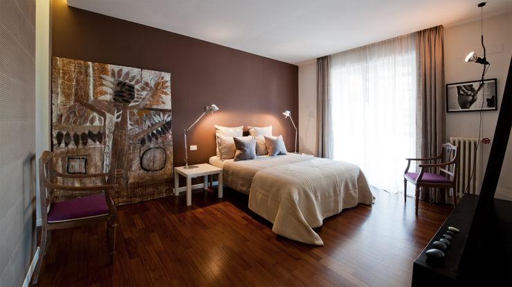 Appartamento ad Ostiense - Roma Archifacturing Camera da letto moderna