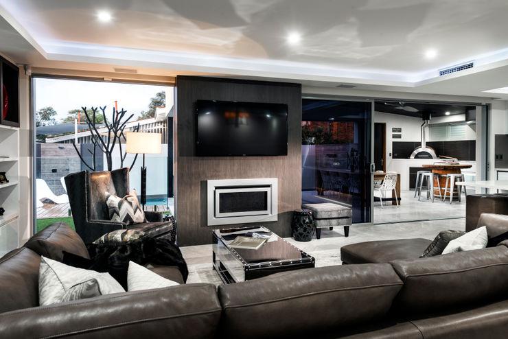 Menora Residence Moda Interiors Вітальня