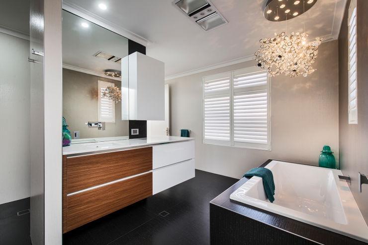 Menora Residence Moda Interiors Modern bathroom