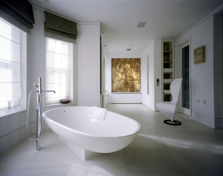 Thurlow Road 2 KSR Architects Minimalist style bathroom
