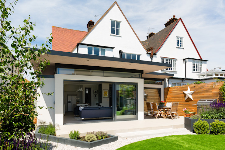 Broadgates Road Granit Architects Casas modernas