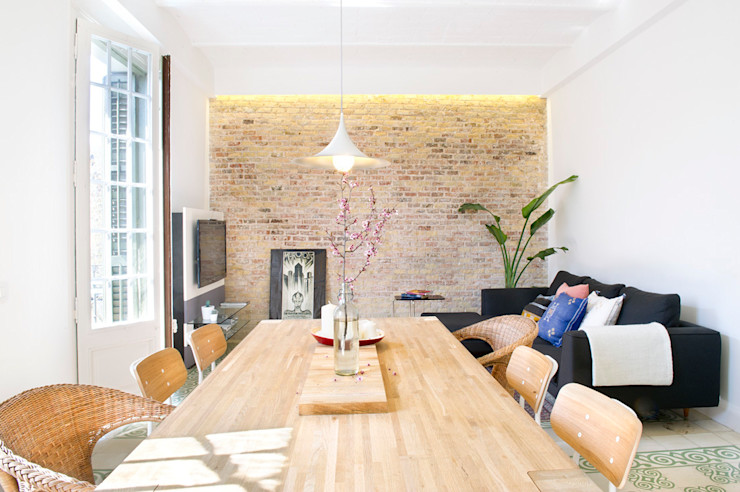 Egue y Seta Scandinavian style dining room