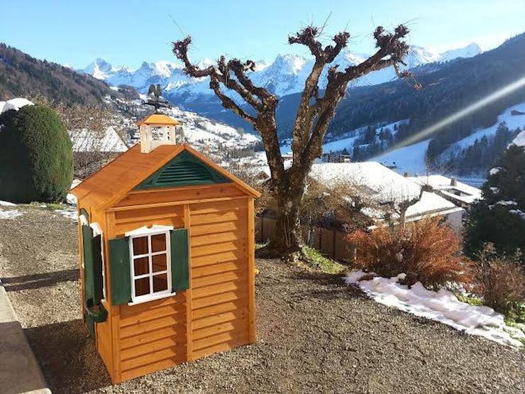 Bayberry Playhouse In French Alps Selwood Products Ltd Garden Swings & play sets