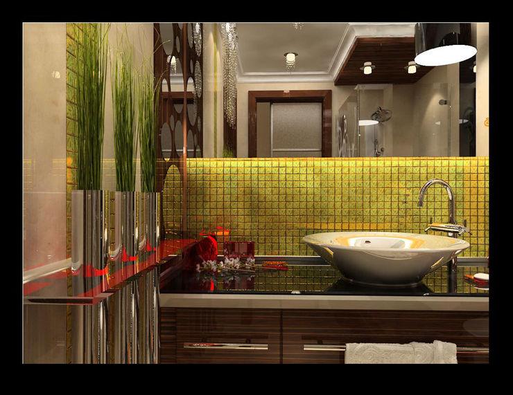 levent tekin iç mimarlık Ванна кімнатаПрикраса