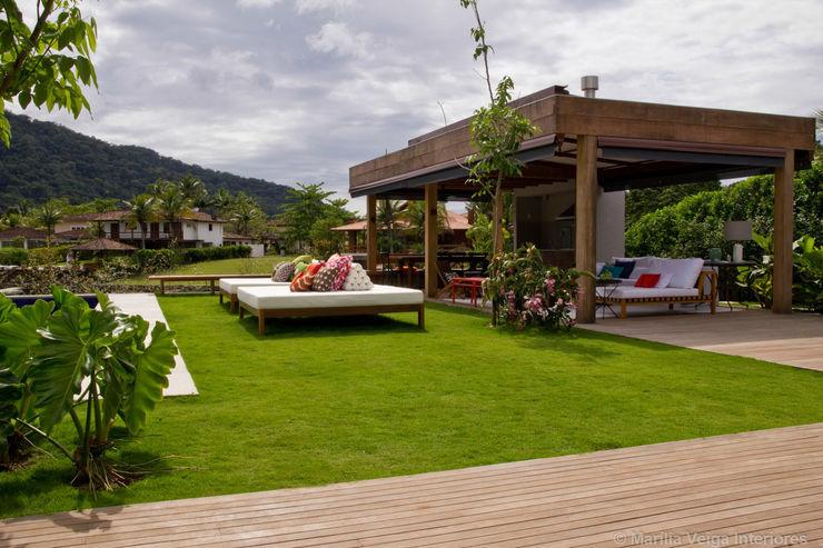 Marilia Veiga Interiores Varandas, marquises e terraços tropicais