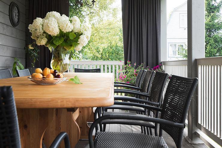 COUTURE INTERIORS Scandinavian style garden