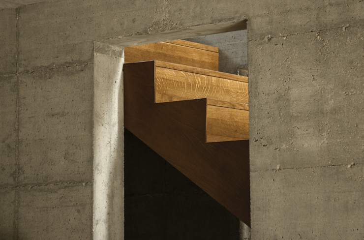 PRR Architetti - Stefano Rigoni Sara Pivetta Stefania Restelli Modern corridor, hallway & stairs
