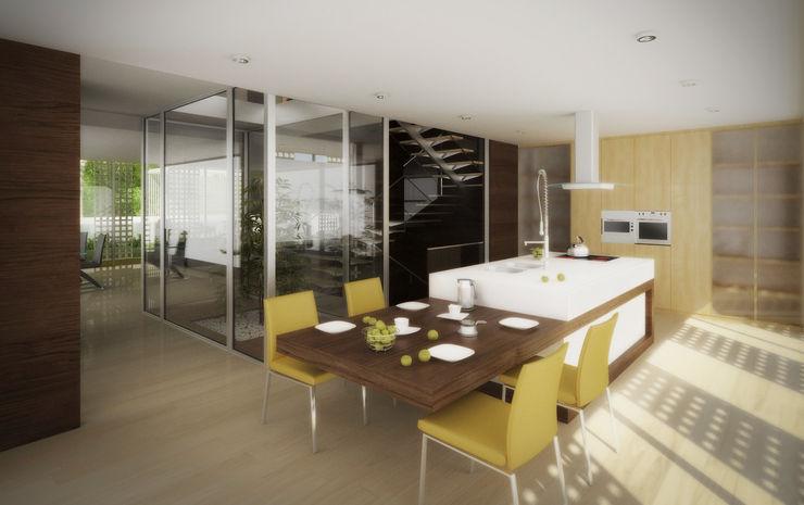 EVA   evolutionary architecture Modern kitchen