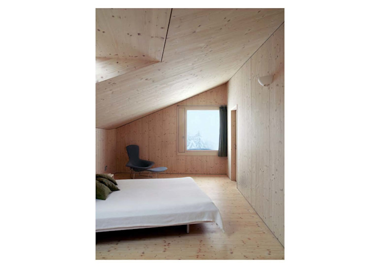 Hurst Song Architekten Modern style bedroom