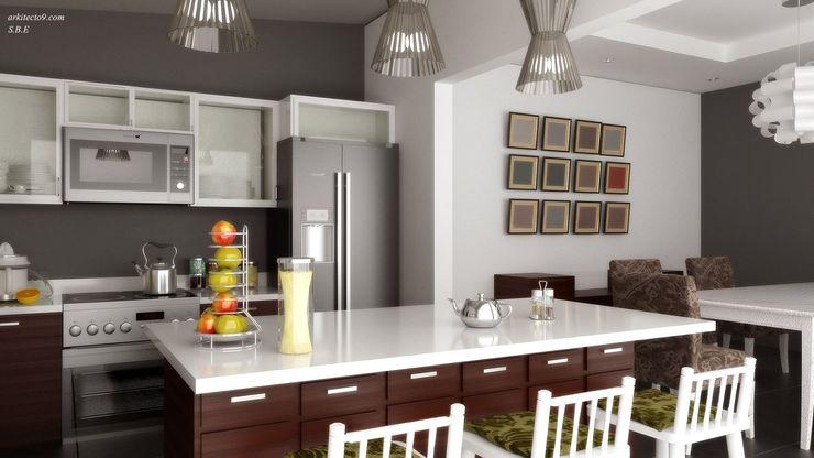 arquitecto9.com Classic style kitchen