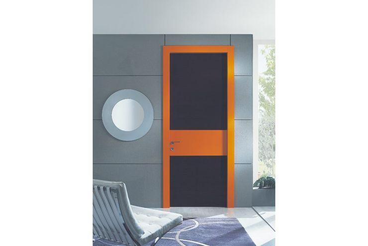 porta in legno Frame Laccata TONDIN PORTE SRL con unico socio Finestre & Porte in stile moderno