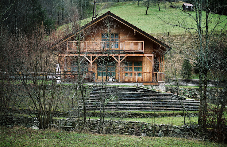 Thoma Holz GmbH Country style houses