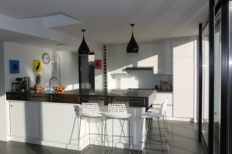 ONZIEME ETAGE SARL d'architecture CocinasMesadas de cocina