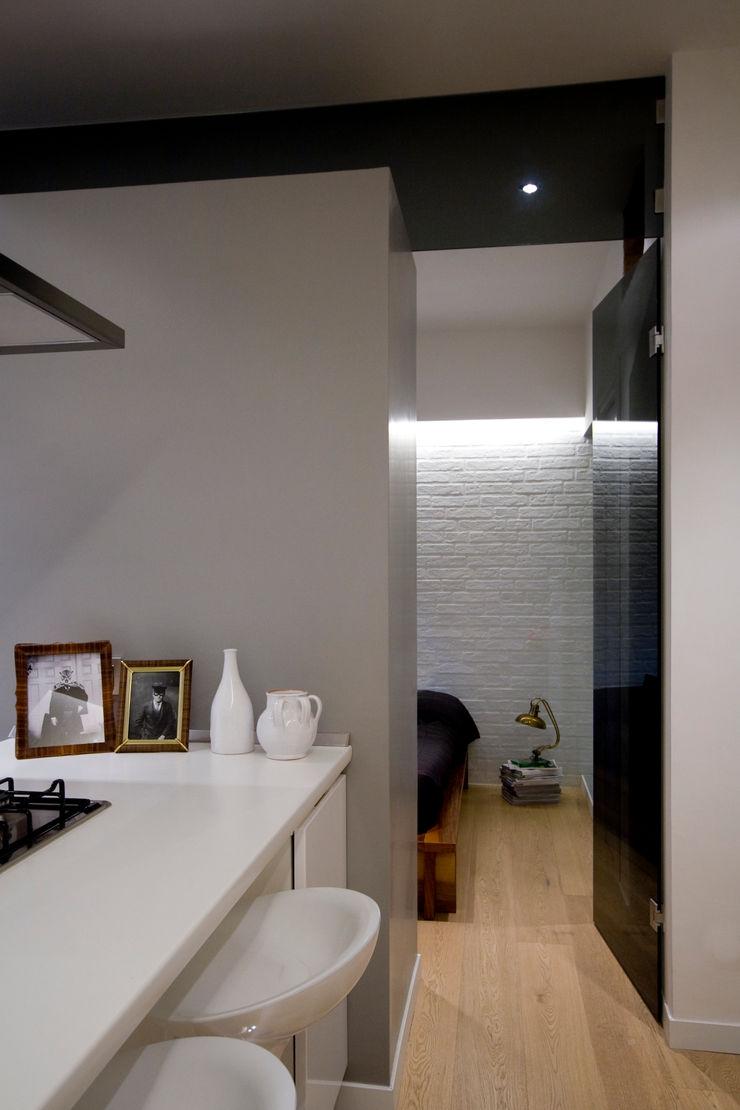 Loft CF_Manuela Tognoli Interiors Manuela Tognoli Architettura Cucina in stile industriale