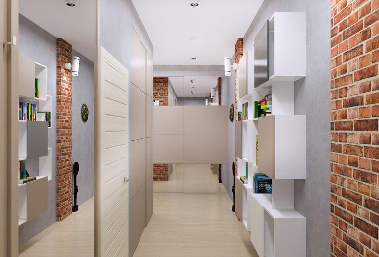 homify Minimalist corridor, hallway & stairs