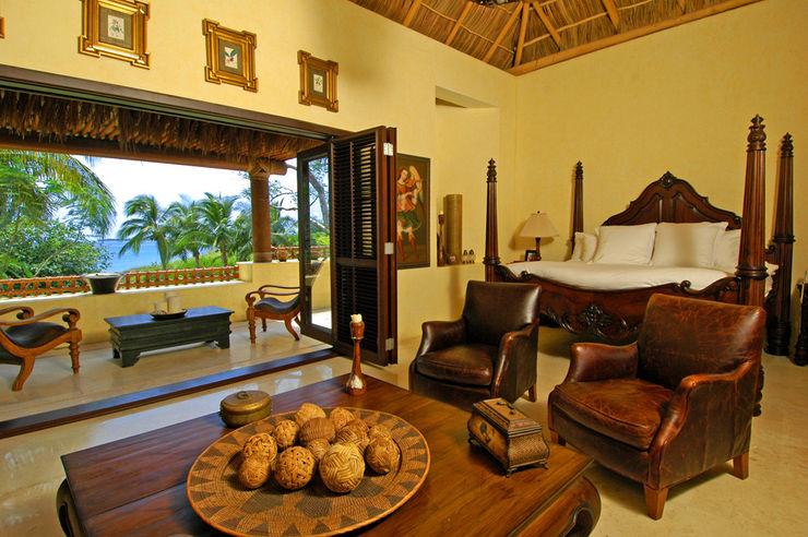 Casa Amore BR ARQUITECTOS Dormitorios tropicales