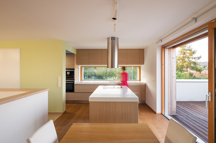 Abendroth Architekten Moderne keukens