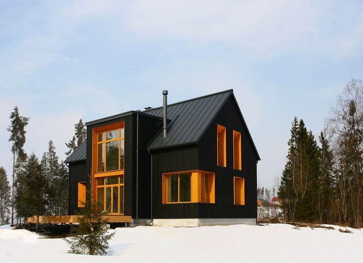 Snegiri Architects Scandinavian style houses
