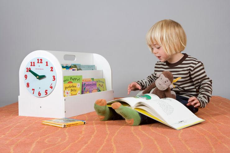 Tidy Books Children's Book Box - white Tidy Books Nursery/kid's roomStorage