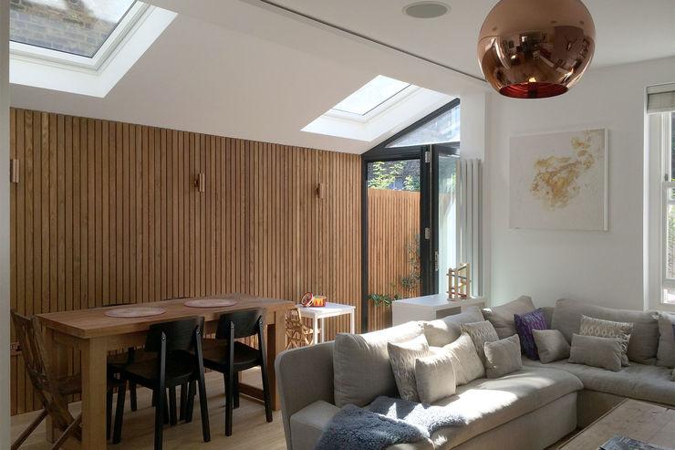 Venn Street Part 2 Proctor & Co. Architecture Ltd Salas de estilo moderno