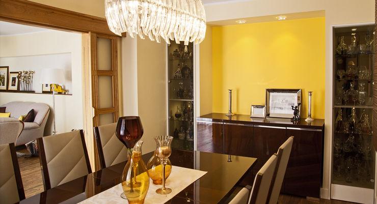 Ewa Weber - Pracownia Projektowa Classic style dining room
