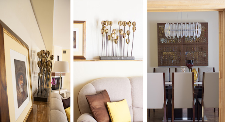 Ewa Weber - Pracownia Projektowa Living room