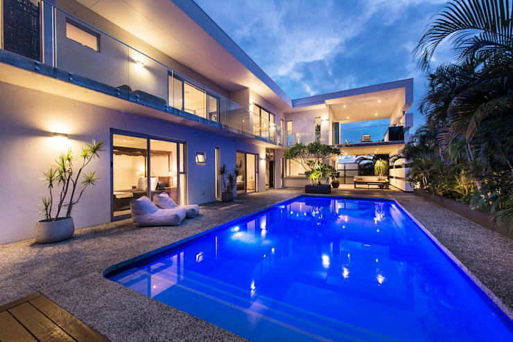 Pool Alfresco D-Max Photography Industrial style houses
