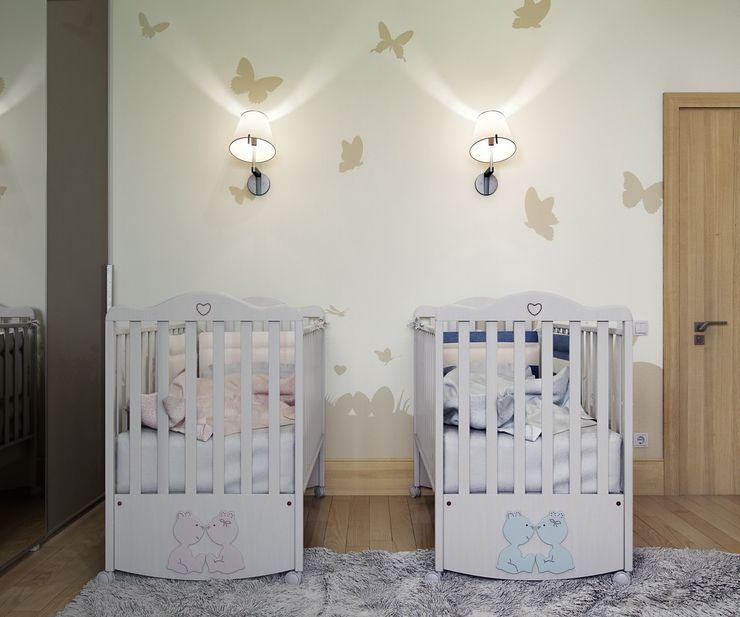 Максим Любецкий Dormitorios infantiles de estilo minimalista