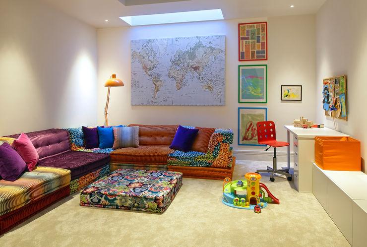 Redesdaale Street Chelsea Basement Development Playroom Shape Architecture Modern nursery/kids room