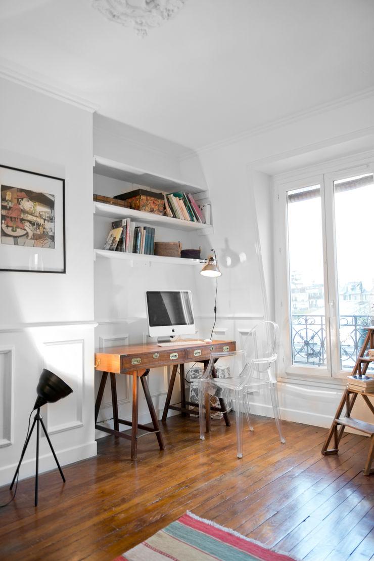 Cocottes Studio Рабочий кабинет в рустикальном стиле