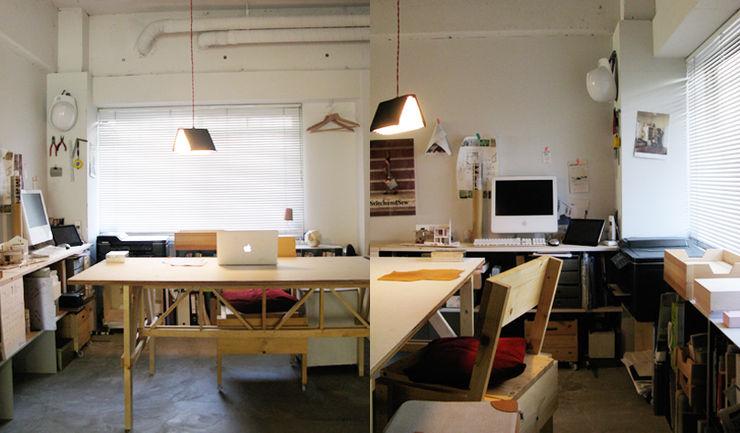 HANKURA office+house HANKURA Design オリジナルデザインの 書斎