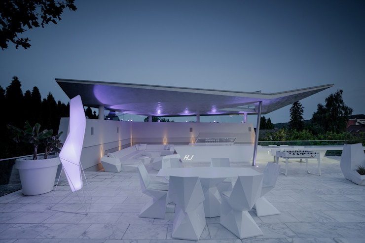 KARL+ZILLER Architektur Modern Garden