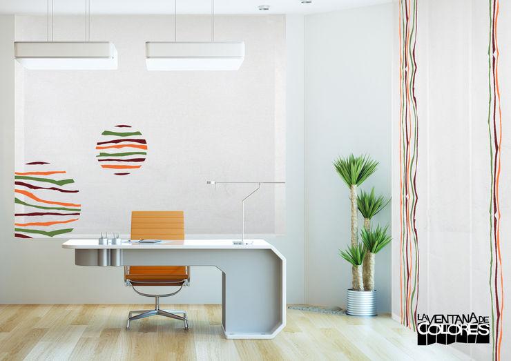 Ambientes actuales de La Ventana de Colores LA VENTANA DE COLORES Edificios de oficinas de estilo moderno
