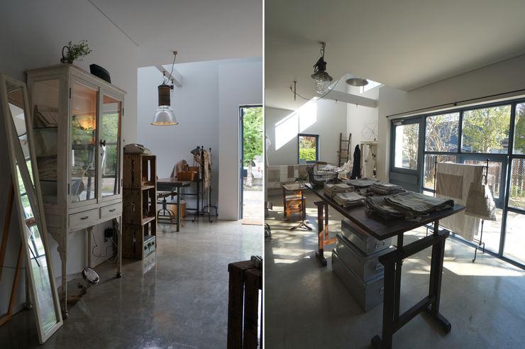 さくま建築設計事務所 Industrial style media room