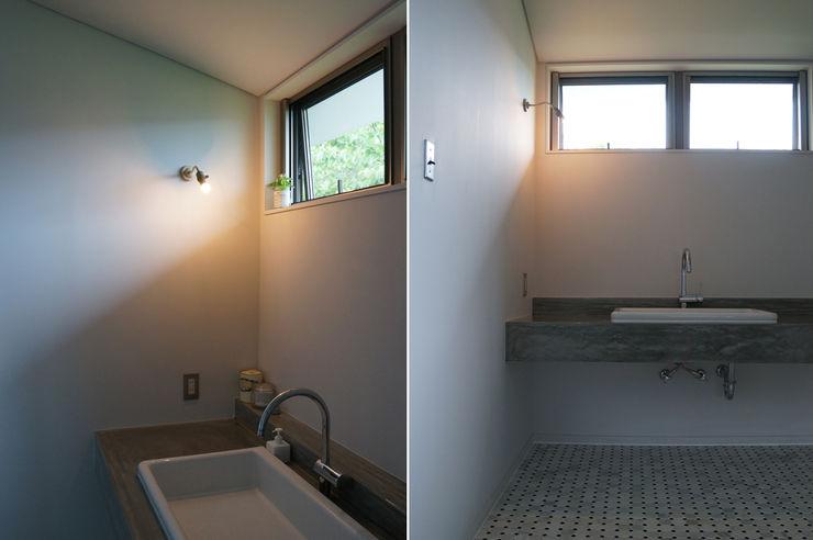 さくま建築設計事務所 Industrial style bathroom