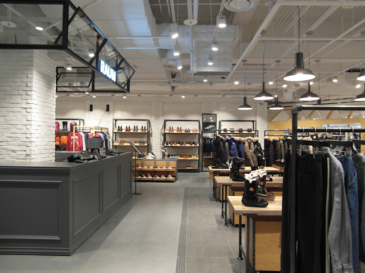 "COEX Mall Premium Brand "" R A U M "" 빈크리트 시공 빈flow 러스틱스타일 드레싱 룸"