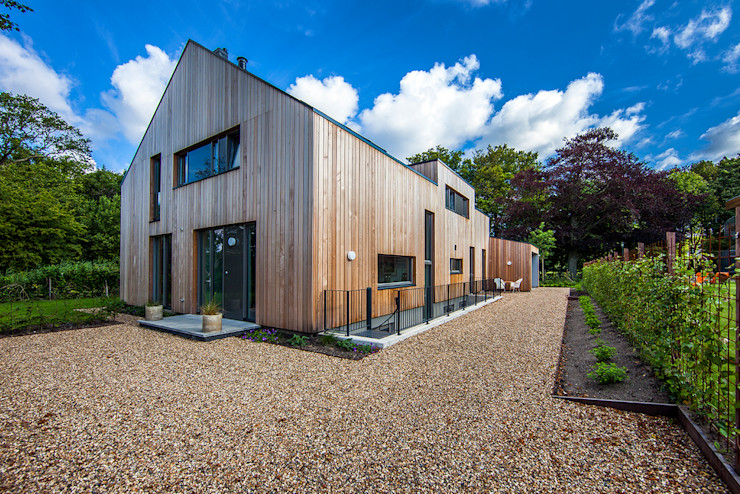 paul seuntjens architectuur en interieur Rumah Modern