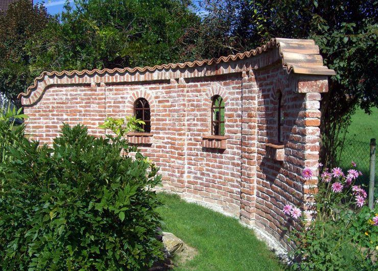 Mönch Nonne Halbschale Coppo Sardo Rimini Baustoffe GmbH Mediterraner Garten