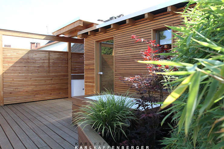 Die Sauna Karl Kaffenberger Architektur   Einrichtung Skandinavischer Spa