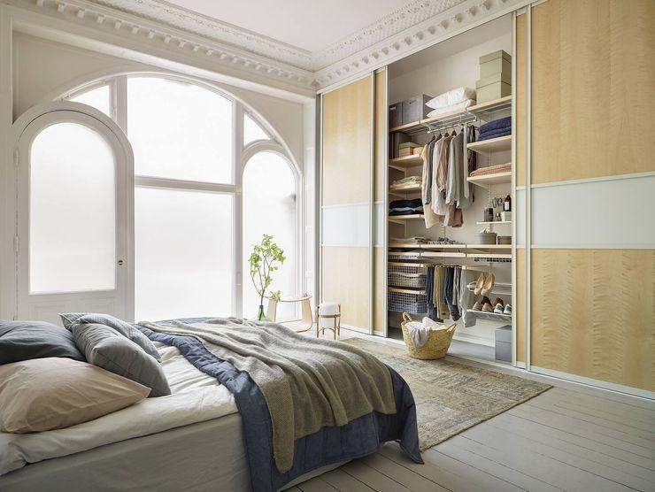 Elfa Deutschland GmbH Scandinavian style bedroom