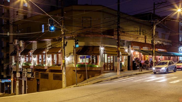 Restaurante Esquina Mocotó LAB Arquitetos Espaços gastronômicos modernos
