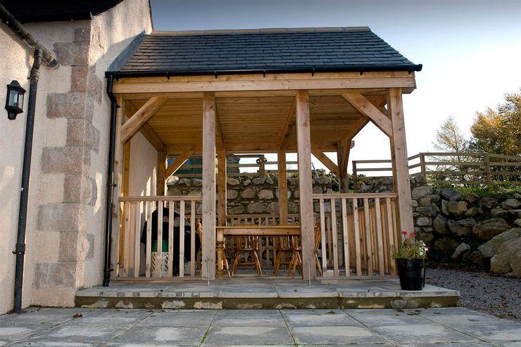 Craigentath, Blairs, Aberdeenshire Roundhouse Architecture Ltd Garden Greenhouses & pavilions
