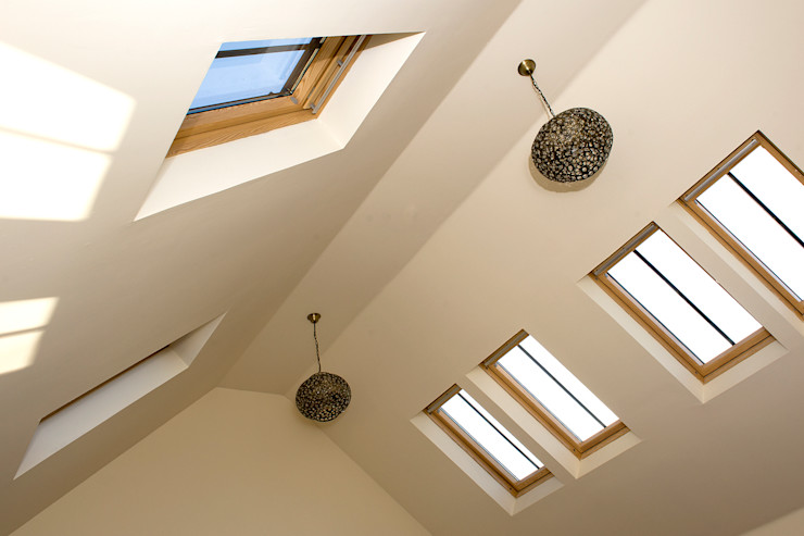 Craigentath, Blairs, Aberdeenshire Roundhouse Architecture Ltd Living roomLighting
