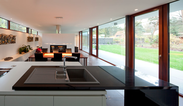 Bungalow Justus Mayser Architekt Moderne Küchen