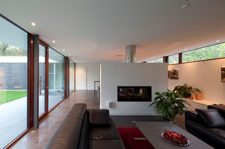 Bungalow Justus Mayser Architekt Moderne Wohnzimmer