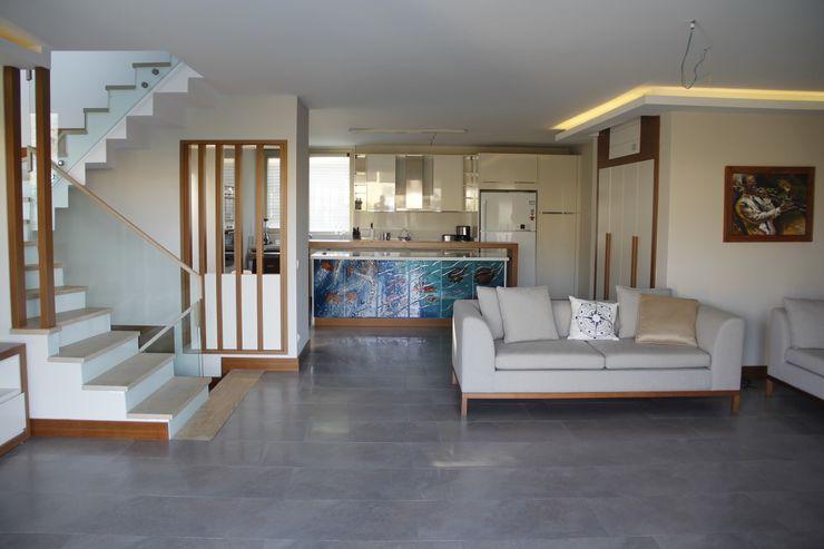 Mimkare İçmimarlık Ltd. Şti. Modern Living Room